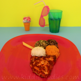 Ice cream meal for kids
