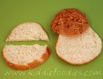 Turtles sandwich step1