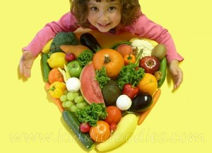Kiddie Foodies - simple recipes for kids
