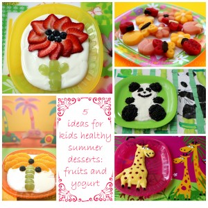 Fruit recipes with yogurt
