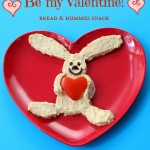 St. Valentine snack ideas – rabbit with a heart