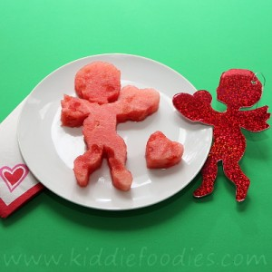 Watermelon cupid dessert for kids