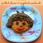 Dora – grilled cheese and eggplant sandwich