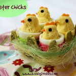 Easter chicks snack