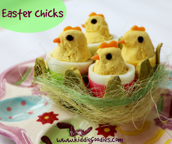 How Yummy Easter Chicks Snack For Kids
