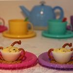 Five o'clock tea – egg snack