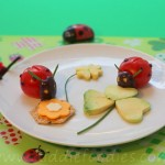 Ladybugs snack