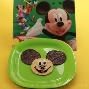 Mickey Mouse snack for kids