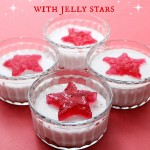 No bake mini cheesecakes with jelly stars, simple and easy dessert