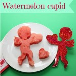 St. Valentine dessert ideas – watermelon cupid
