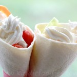 'Ice cream' tortilla wraps