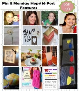 TOP 10 Project Features from Pin It MOnday Hop#16
