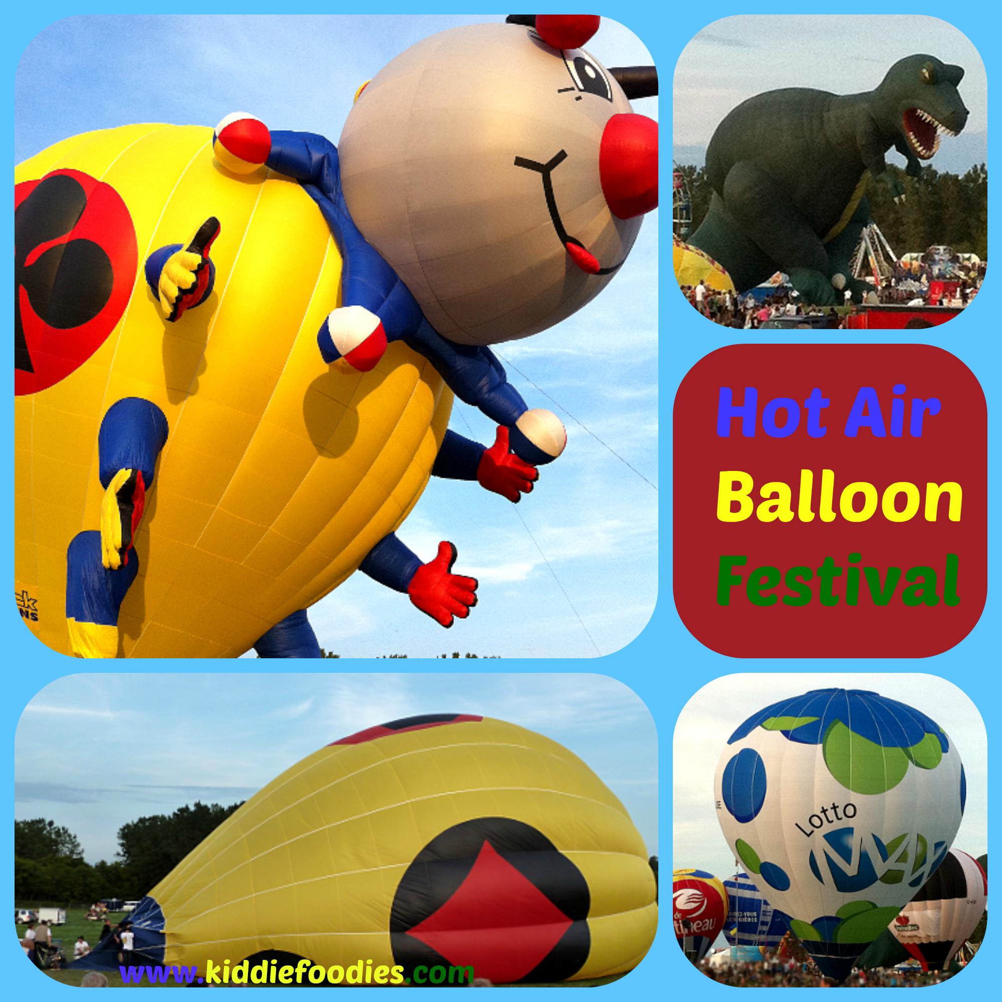 Hot air balloon festival Gatineau
