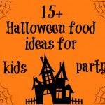 15+ Halloween food ideas for kids party