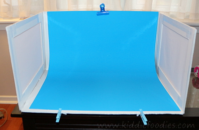 Food photography -how to build a foldable lightbox step12