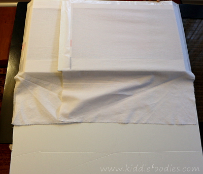 Food photograpghy -how to build a foldable lightbox step13
