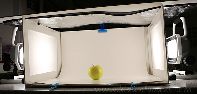Food photograpghy -how to build a foldable lightbox step15