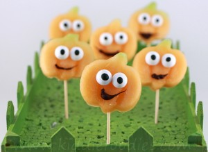 Happy pumpkins - Halloween party food ideas step2b