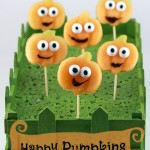 Happy pumpkins – Halloween party food