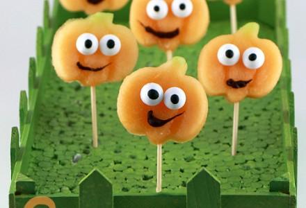 Happy pumpkins - Halloween party food ideas
