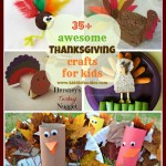 35+ awesome Thanksgiving crafts for kids