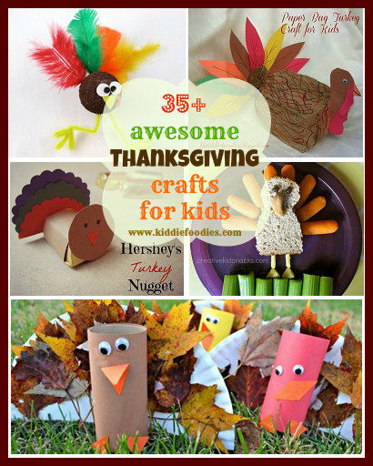 35 awesome Thanksgiving crafts for kids