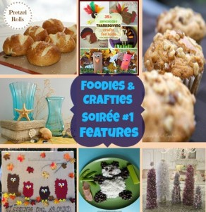 Foodies and Crafties Soiree #1 features