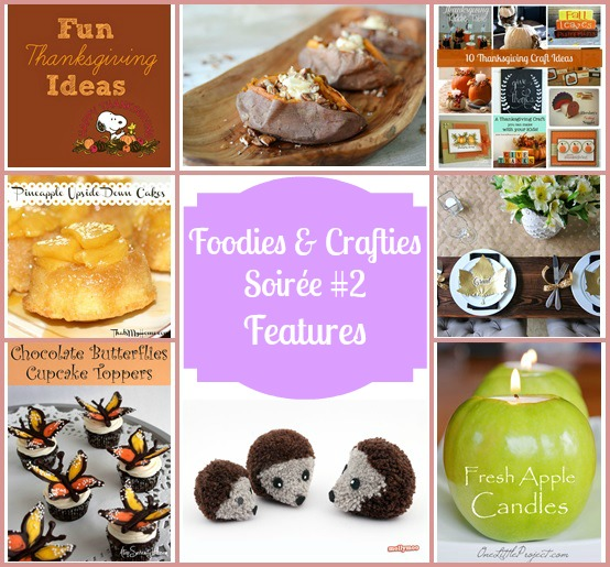 Foodies and Crafties Soiree #2 features