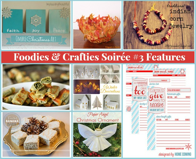 Foodies and Crafties Soiree #3 features title
