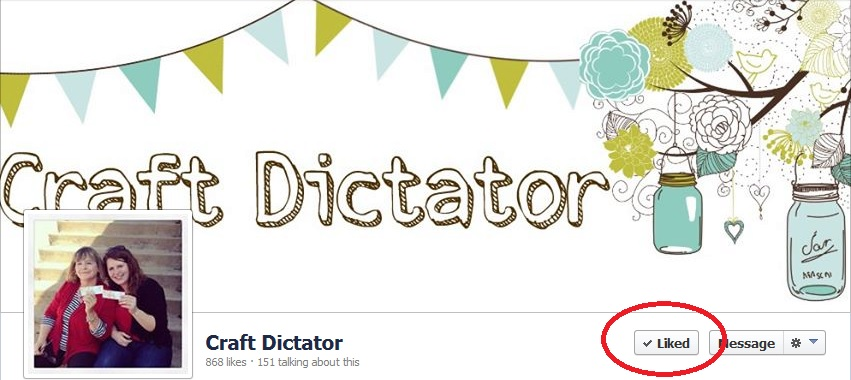 Foodies and Crafties Soiree Facebook blog hop featured blogger Craft Dictator