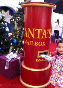 Santa Claus cake, Christmas cake decoration ideas - sending letter to Santa