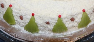 Santa Claus cake, Christmas cake decoration ideas step2