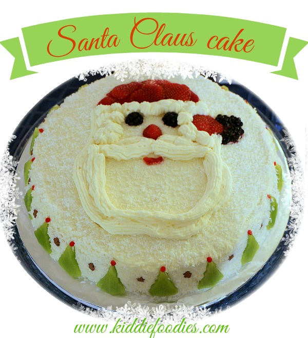 Santa Claus cake, Christmas cake decoration ideas