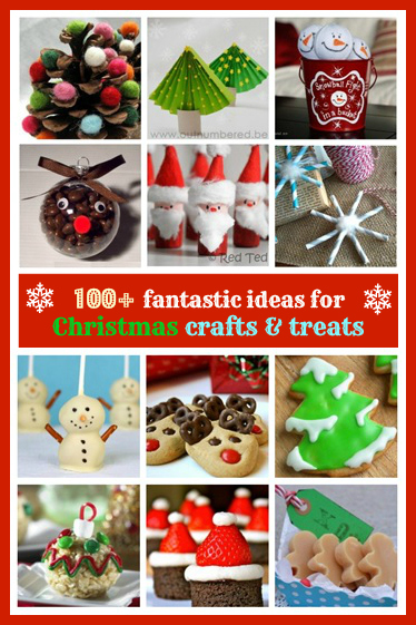 Christmas crafts and treats