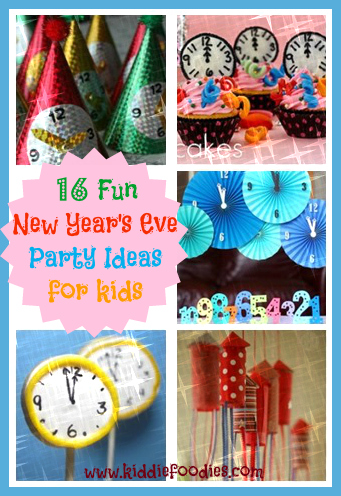 16 Fun New Year's Eve party ideas for kids