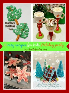 6 easy recipes for kids Holiday party