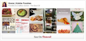 FoodiesCraftiesSoiree Pinterest board