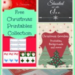 Free Christmas printables – FCS #5 Features