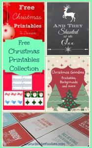 Free Christmas Printables Collection