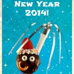 Happy New Year 2014 card