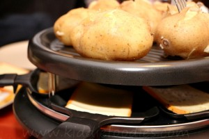 Raclette - easy party food for cheese lovers step2a