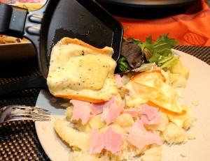 Raclette - easy party food for cheese lovers step2b
