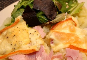 Raclette - easy party food for cheese lovers step2c