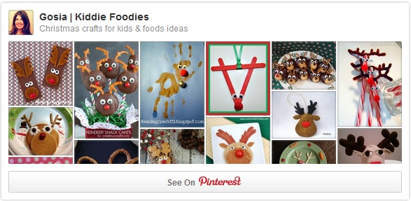 Rudolph the Red Nose Reindeer - Christmas crafts and treats for kids Pinterest