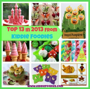 Top 13 in 2013 from Kiddie Foodies