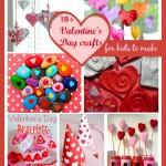10+ Valentine's Day crafts for kids to make #valentinesideas, #valentinescraftsforkids