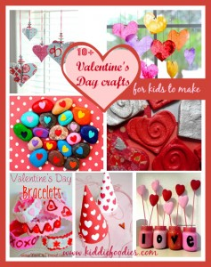 10+ Valentine's Day crafts for kids to make #valentinesideas, #valentinescraftsforkids