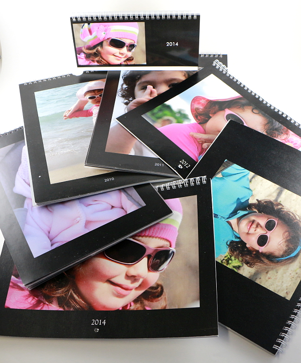 Family keepsakes ideas - make a personalized photo calendar 1