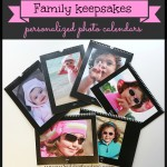 Family keepsakes – personalized photo calendars