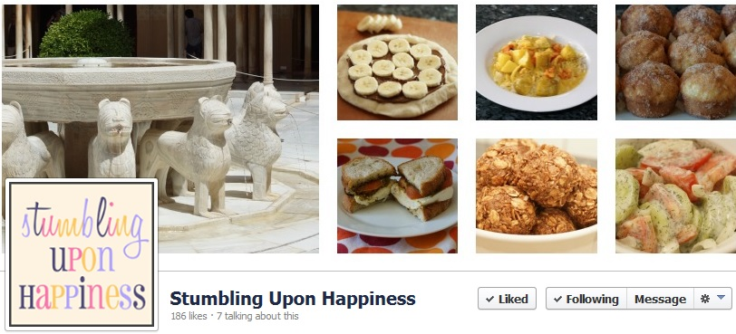 Foodies and Crafties Soiree Facebook blog hop featured blogger Caroline from Stumbling upon Happiness